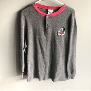 VTG Disney Store Mickey Mouse Thermal Top